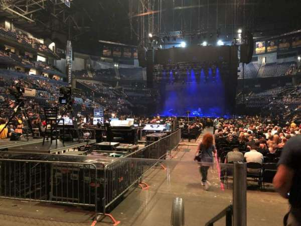 Bridgestone Arena, Abschnitt: 101, Reihe: CC, Platz: 2