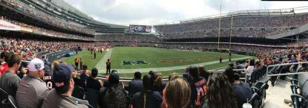 Soldier Field, Abschnitt: 154, Reihe: 5, Platz: 7