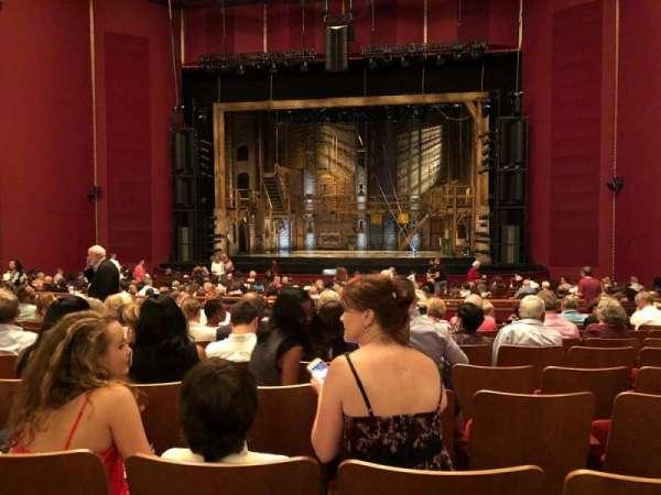 The Kennedy Center Opera House, Abschnitt: Orchestra, Reihe: AA, Platz: 108