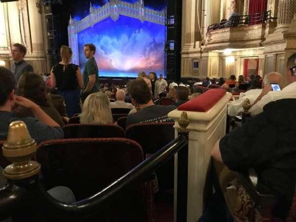 Boston Opera House, Abschnitt: ORCBXR, Reihe: S, Platz: 50