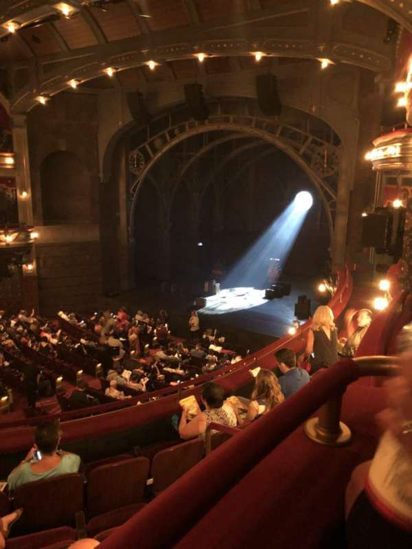 Lyric Theatre, Abschnitt: Dress Circle R, Reihe: Box C, Platz: Seat 1