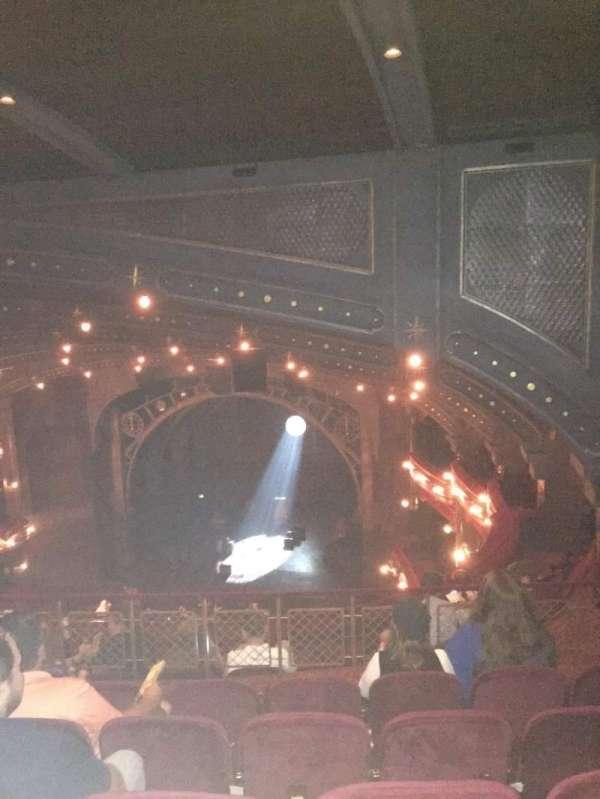 Lyric Theatre, Abschnitt: Balcony R, Reihe: G, Platz: 18