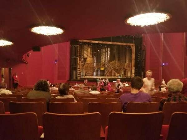 The Kennedy Center Opera House, Abschnitt: Orch, Reihe: GG, Platz: 9
