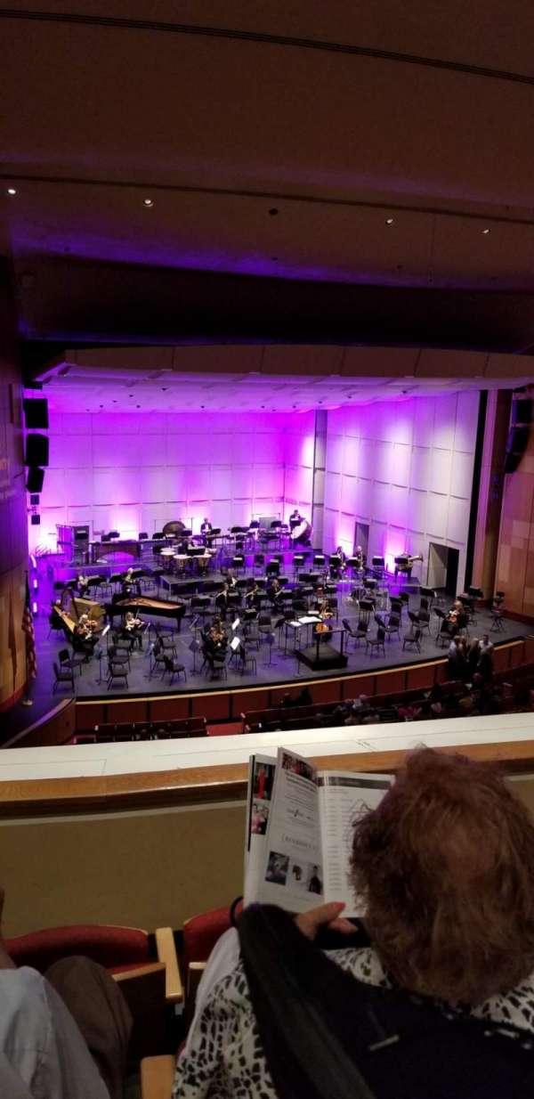 Phoenix Symphony Hall, Abschnitt: Balcony, Reihe: 3, Platz: 55