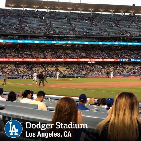Dodger Stadium, Abschnitt: 36FD, Reihe: A, Platz: 8