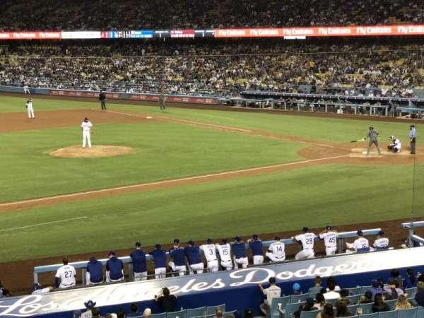 Dodger Stadium, Abschnitt: 135LG, Reihe: C, Platz: 7