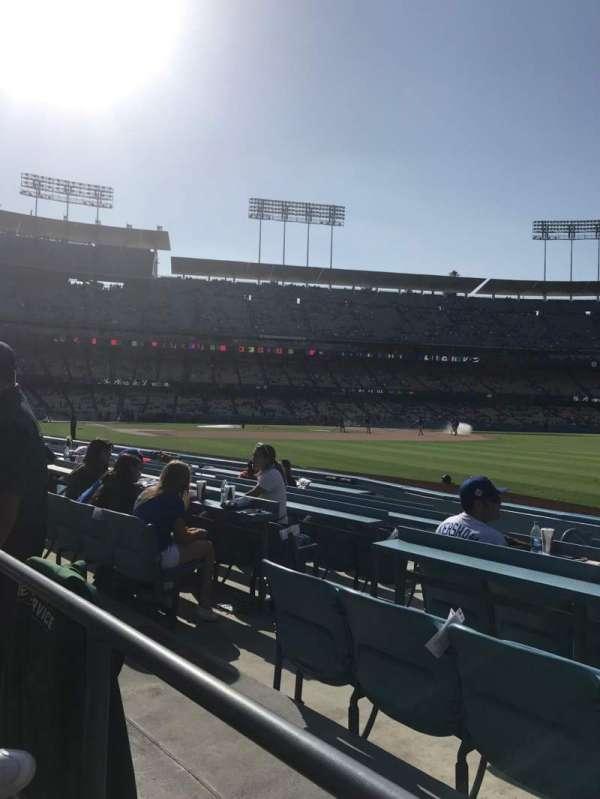 Dodger Stadium, Abschnitt: 44FD, Reihe: A, Platz: 6