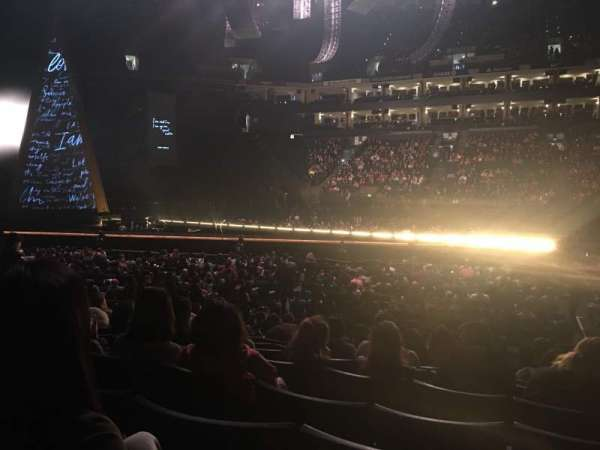 Oracle Arena, Abschnitt: 115, Reihe: 10, Platz: 5