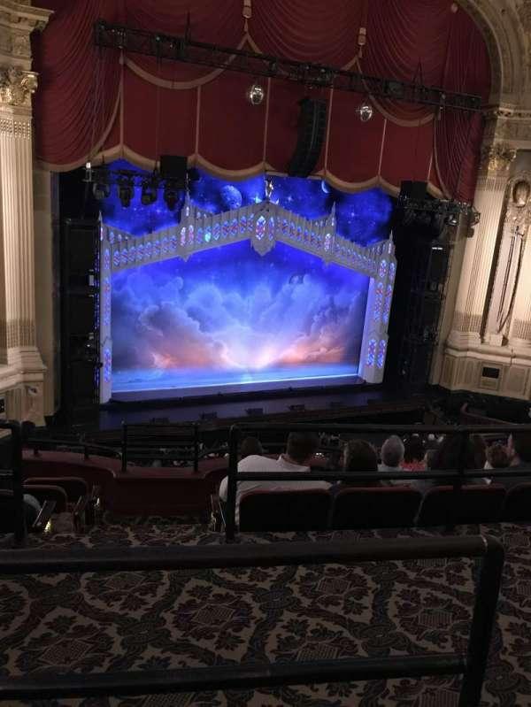 Boston Opera House, Abschnitt: MEZLFT, Reihe: B, Platz: 5