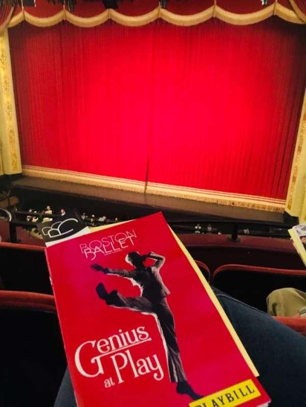 Boston Opera House, Abschnitt: Dress Circle Center Right, Reihe: CC, Platz: 14