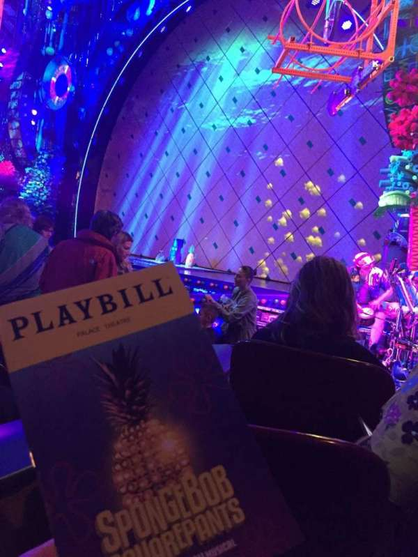 Palace Theatre (Broadway), Abschnitt: ORCH, Reihe: J, Platz: 4