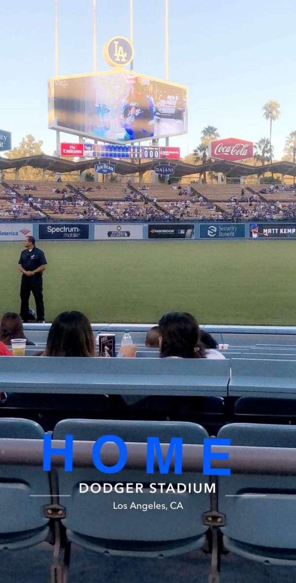 Dodger Stadium, Abschnitt: 39FD, Reihe: 2, Platz: 3-4