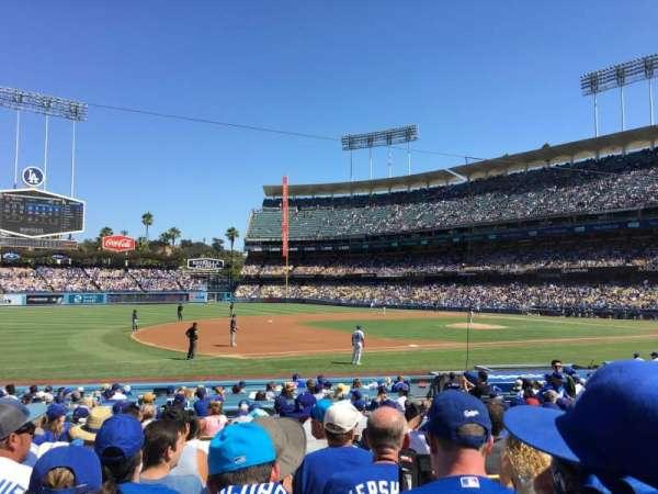 Dodger Stadium, Abschnitt: 29FD, Reihe: M, Platz: 2