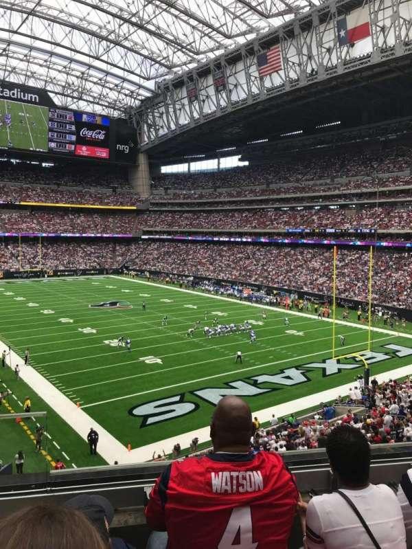 NRG Stadium, Abschnitt: 355, Reihe: C, Platz: 11