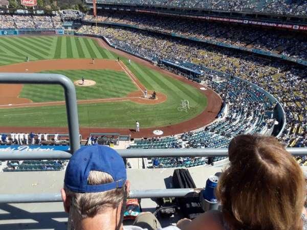 Dodger Stadium, Abschnitt: 11RS, Reihe: B, Platz: 19