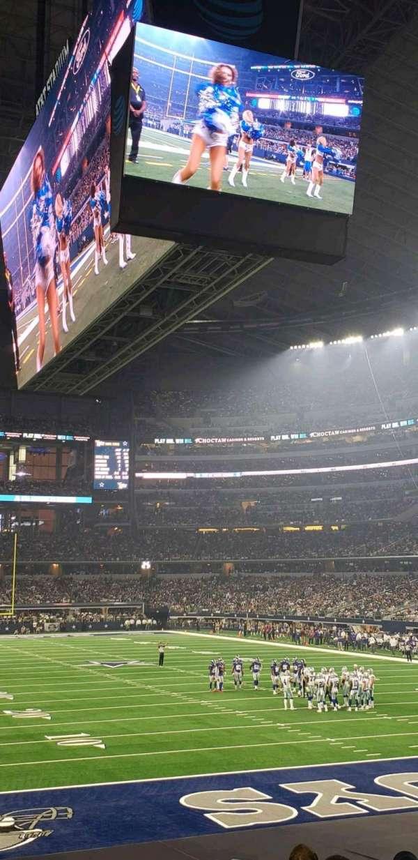 AT&T Stadium, Abschnitt: 150, Reihe: 14, Platz: 9