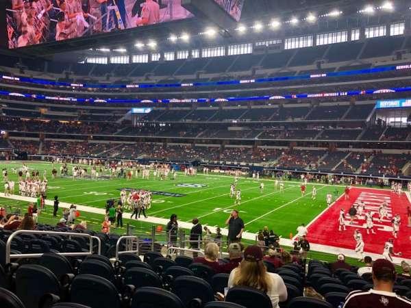 AT&T Stadium, Abschnitt: C106, Reihe: 15, Platz: 5