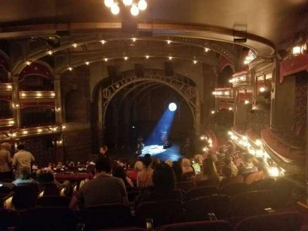 Lyric Theatre, Abschnitt: Dress Circle R, Reihe: K, Platz: 12