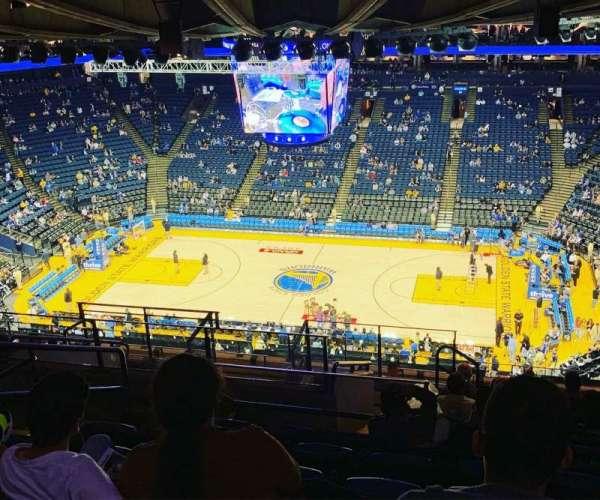 Oracle Arena, Abschnitt: 231, Reihe: 16, Platz: 13