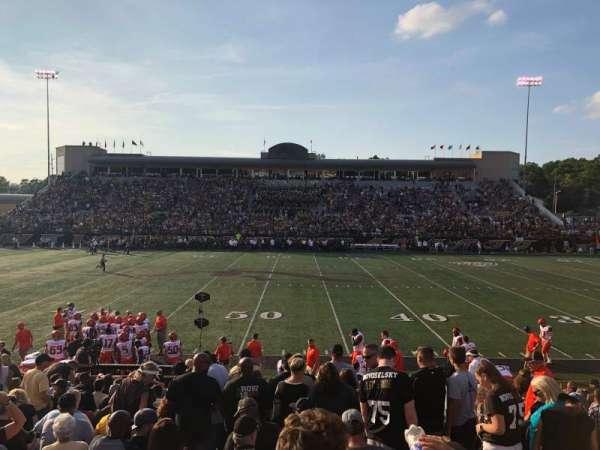Waldo Stadium, Abschnitt: D, Reihe: 5, Platz: 20