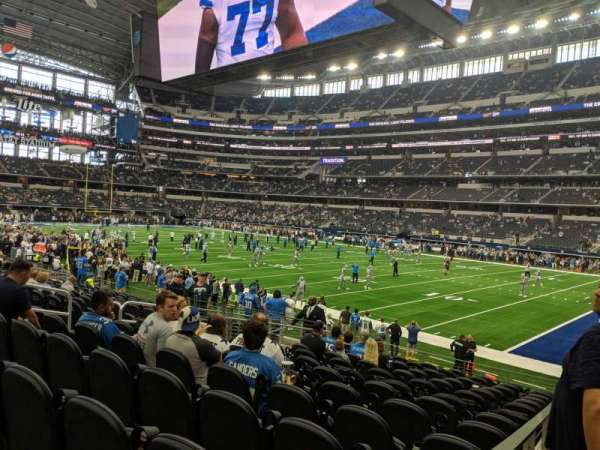 AT&T Stadium, Abschnitt: 103, Reihe: 14, Platz: 10