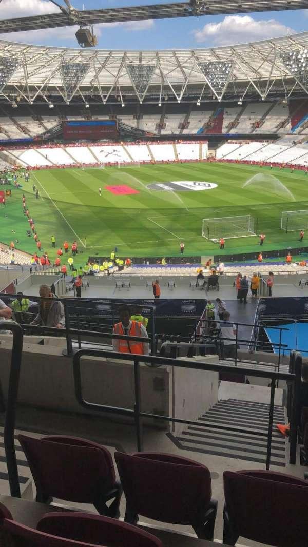 London Stadium, Abschnitt: 217, Reihe: 32, Platz: 342