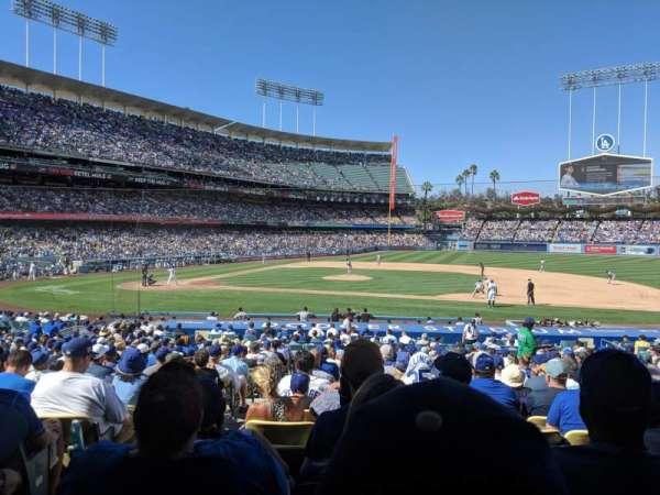 Dodger Stadium, Abschnitt: 20FD, Reihe: V, Platz: 2