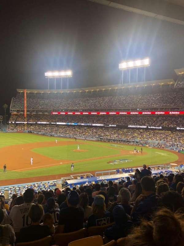 Dodger Stadium, Abschnitt: 141LG, Reihe: O, Platz: 5-6
