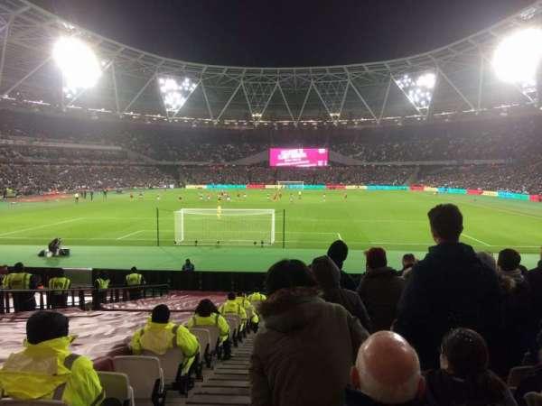 London Stadium, Abschnitt: 124, Reihe: 22, Platz: 519
