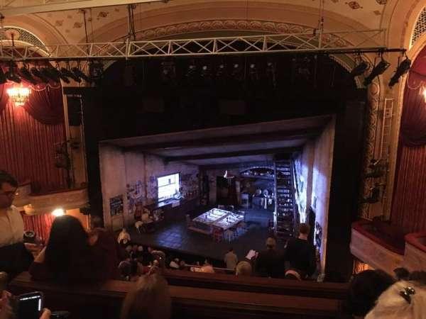 Bernard B. Jacobs Theatre, Abschnitt: Mezzanine, Reihe: G, Platz: 10