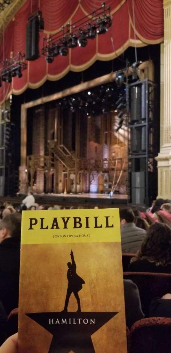 Boston Opera House, Abschnitt: Orchestra Right, Reihe: L, Platz: 40