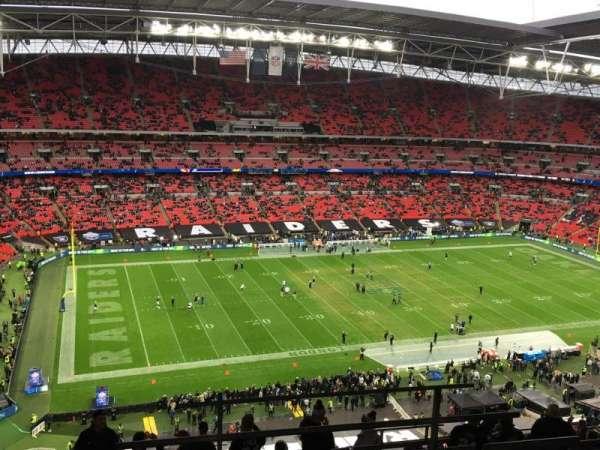 Wembley Stadium , Abschnitt: 504, Reihe: 17, Platz: 107