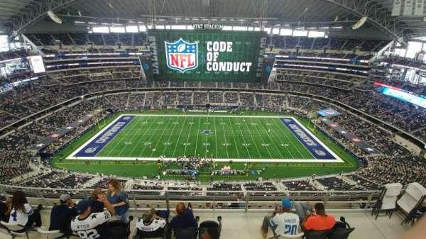 AT&T Stadium, Abschnitt: 412, Reihe: 29, Platz: 7