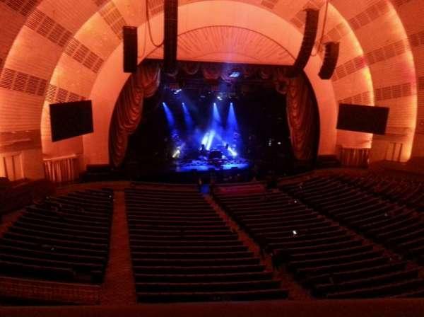 Radio City Music Hall, Abschnitt: 2nd Mezzanine 6, Reihe: A, Platz: 603