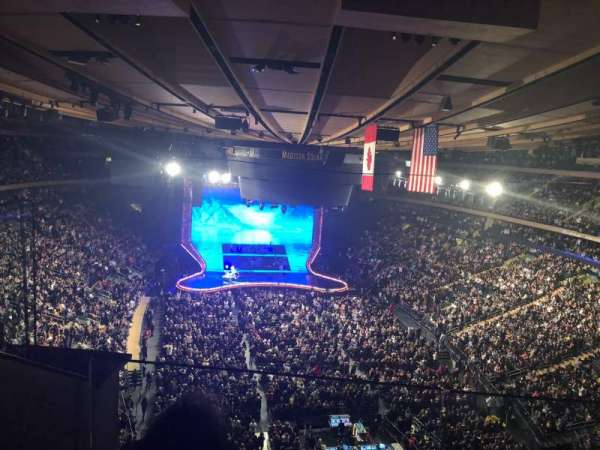 Madison Square Garden, Abschnitt: 304, Reihe: 2, Platz: 2