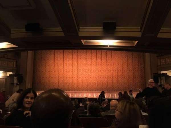 Booth Theatre, Abschnitt: Orch, Reihe: O, Platz: 115