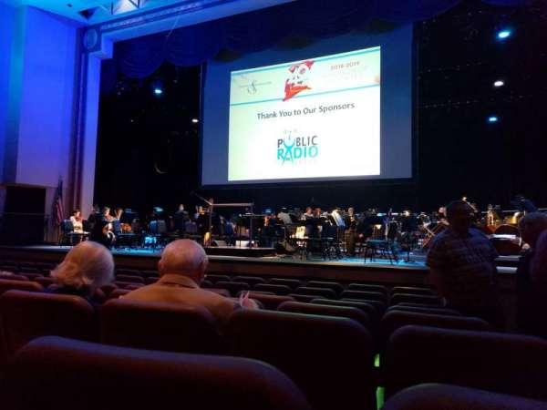 TCC Van Trease Performing Arts for Education, Abschnitt: Orchestra Center, Reihe: H, Platz: 101