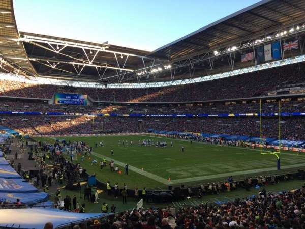 Wembley Stadium, Abschnitt: 137, Reihe: 41, Platz: 110
