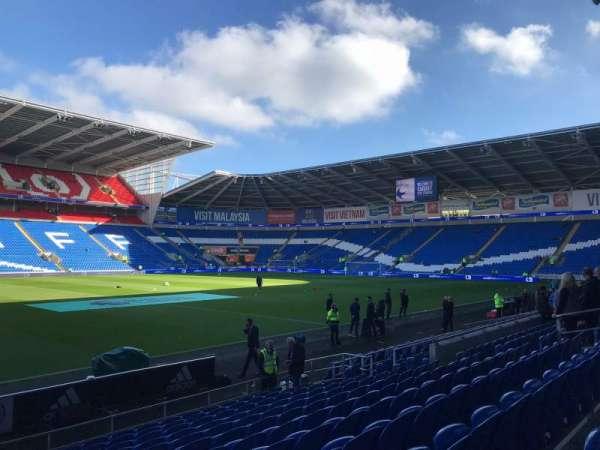 Cardiff City Stadium, Abschnitt: 206, Reihe: L, Platz: 351
