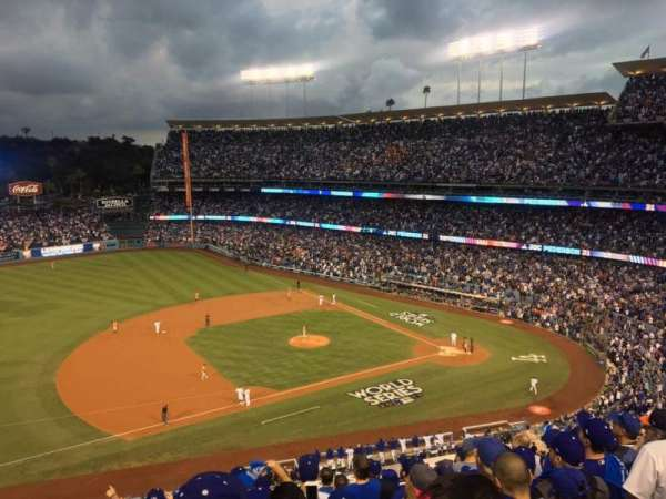 Dodger Stadium, Abschnitt: 23RS, Reihe: K, Platz: 17