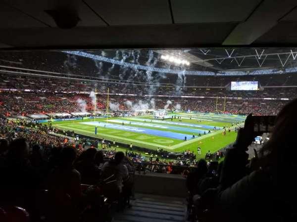 Wembley Stadium, Abschnitt: 130, Reihe: 44, Platz: 218