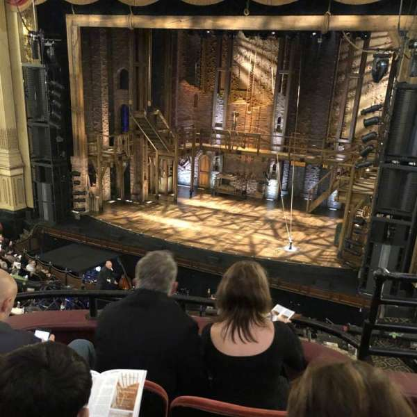 Boston Opera House, Abschnitt: dress circle right center, Reihe: CC, Platz: 14 16 18