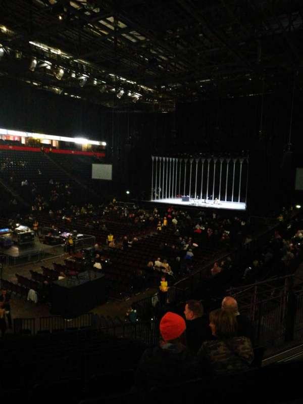 Manchester arena, Abschnitt: 111, Reihe: Q, Platz: 10