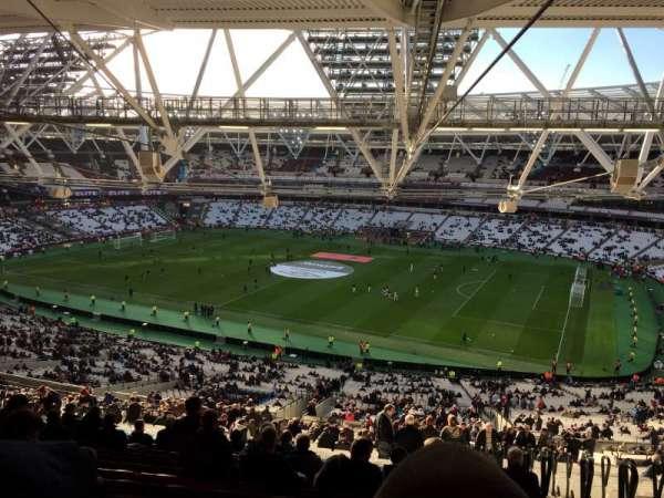 London Stadium , Abschnitt: 240, Reihe: 70, Platz: 314