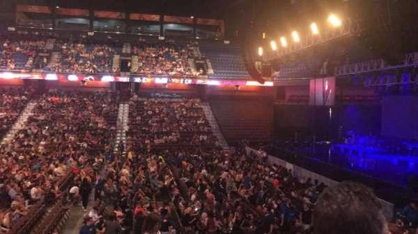 Mohegan Sun Arena, Abschnitt: 15, Reihe: P, Platz: 20