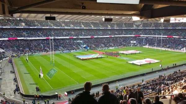 Twickenham Stadium, Abschnitt: M38, Reihe: 72, Platz: 406