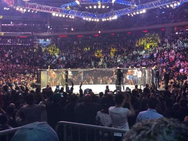 Madison Square Garden, Abschnitt: 119, Reihe: 3, Platz: 3