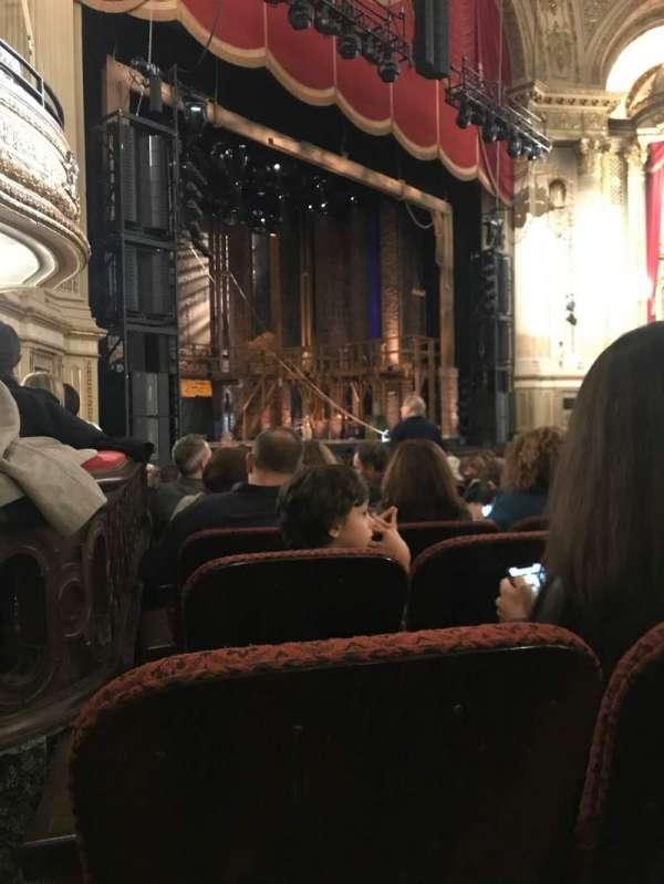 Boston Opera House, Abschnitt: Orchestra Left, Reihe: L, Platz: 41