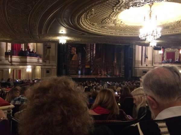 Boston Opera House, Abschnitt: ORCBXL, Reihe: X, Platz: 55