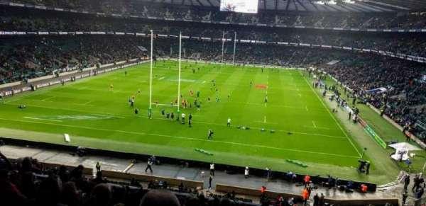 Twickenham Stadium, Abschnitt: M19, Reihe: 65, Platz: 91